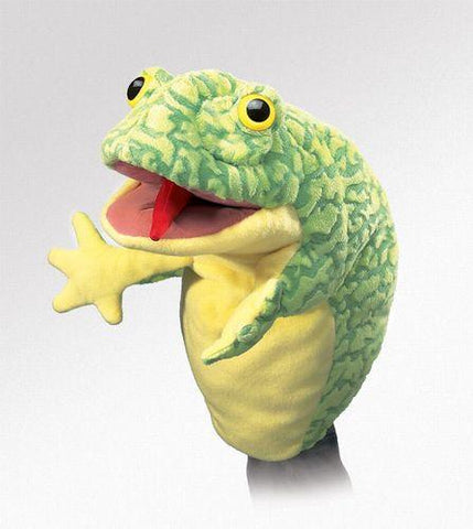 Folkmanis Frog Stage Puppet Stage Puppet - 2896 - Puppethut