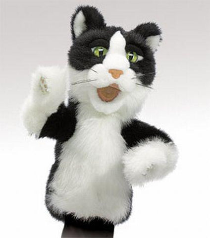 Folkmanis Tomcat Character Puppet - 2916 - Peazz Toys