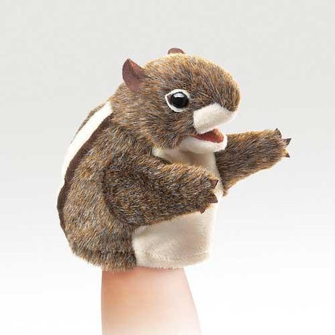 Folkmanis Little Chipmunk Little Puppet - 2929 - Puppethut
