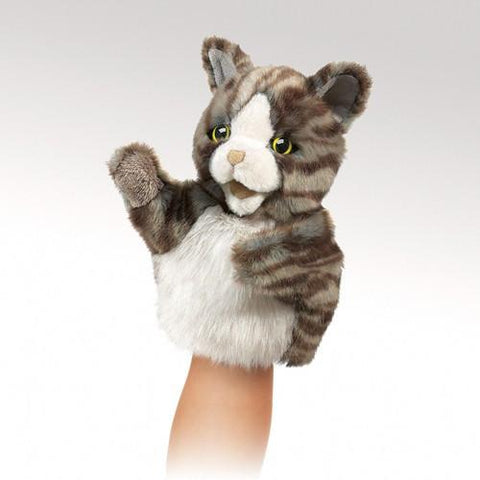 Folkmanis Little Cat Little Puppet - 2962 - Puppethut