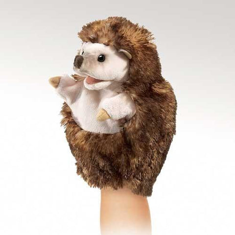 Folkmanis Little Hedgehog Little Puppet - 2966 - Peazz Toys