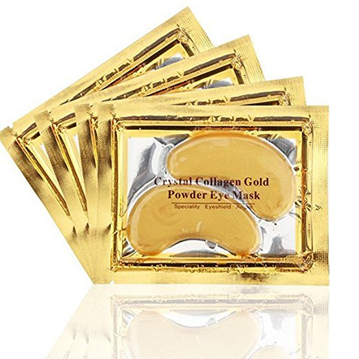 24k Gold Eye Mask - with Collagen (20pcs)