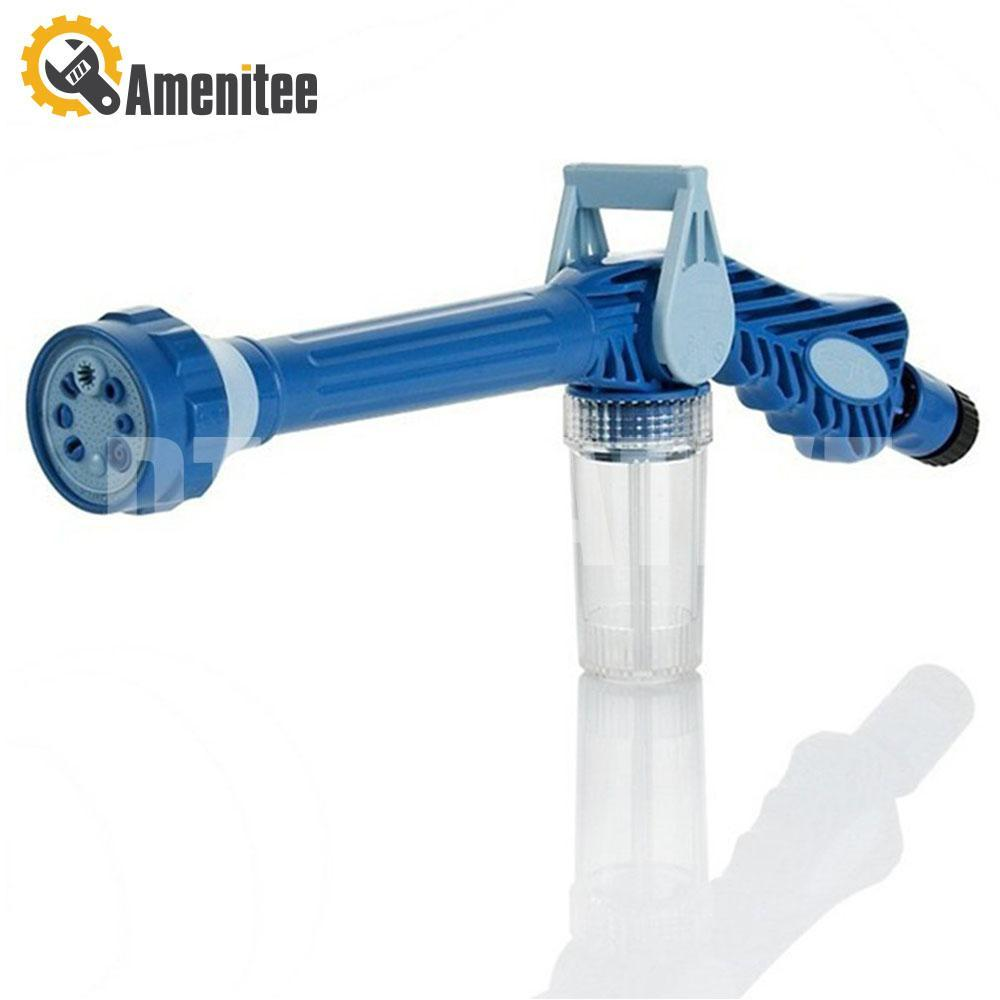 Amenitee Spray Water Gun, 8-in-1 Multi-functional Nozzles
