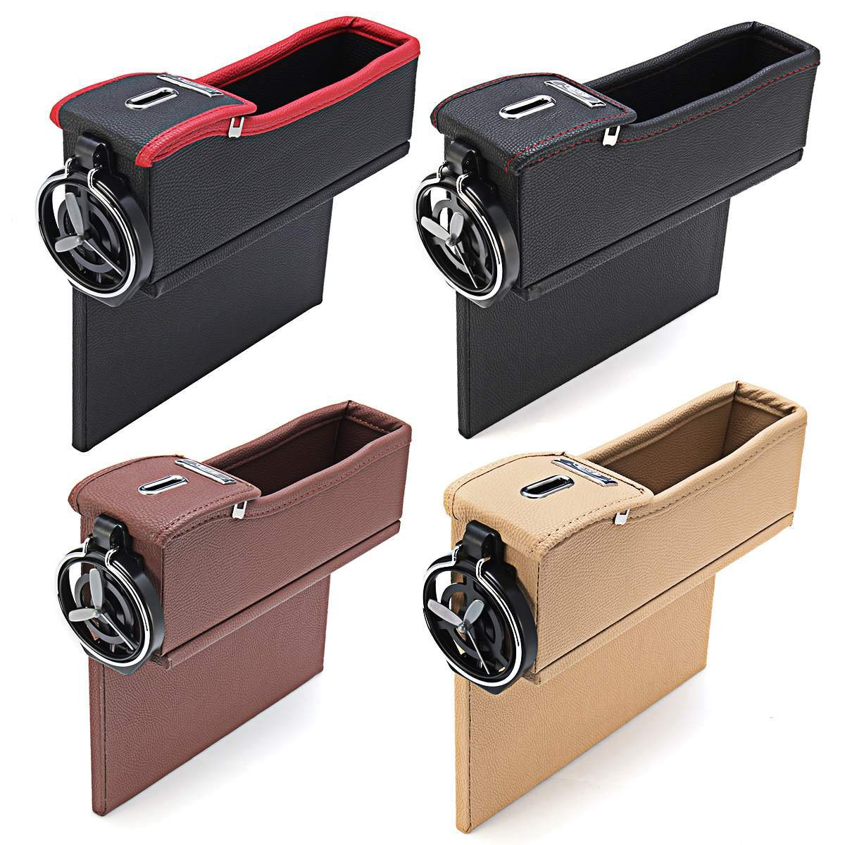 Car Seat Crevice Storage Box (2 Pack) - Lush & Keen - Awesome Products