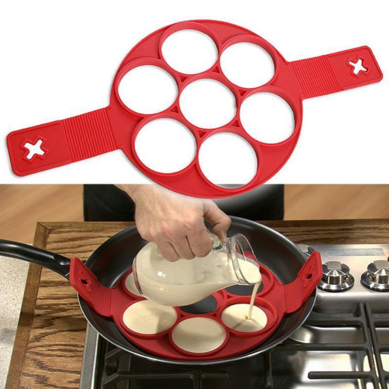 Silicone Non Stick Pancake Ring Mold - Lush & Keen - Awesome Products