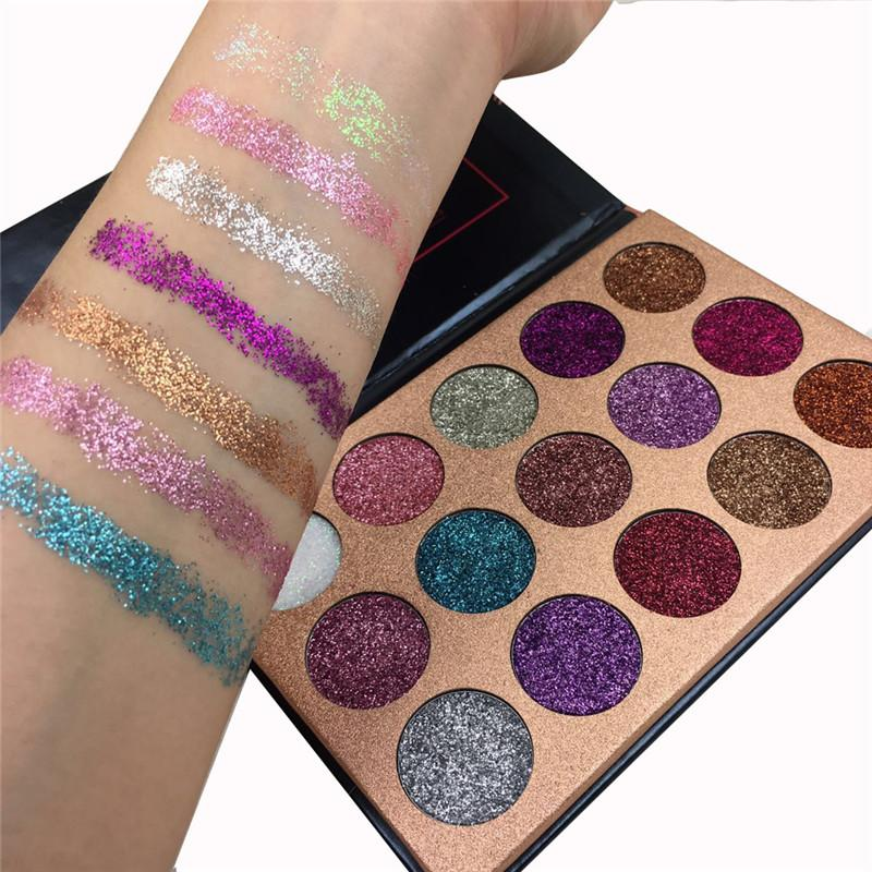 BEAUTYGLAZED™ Rainbow 15 Color Glitter Palette - Lush & Keen - Awesome Products