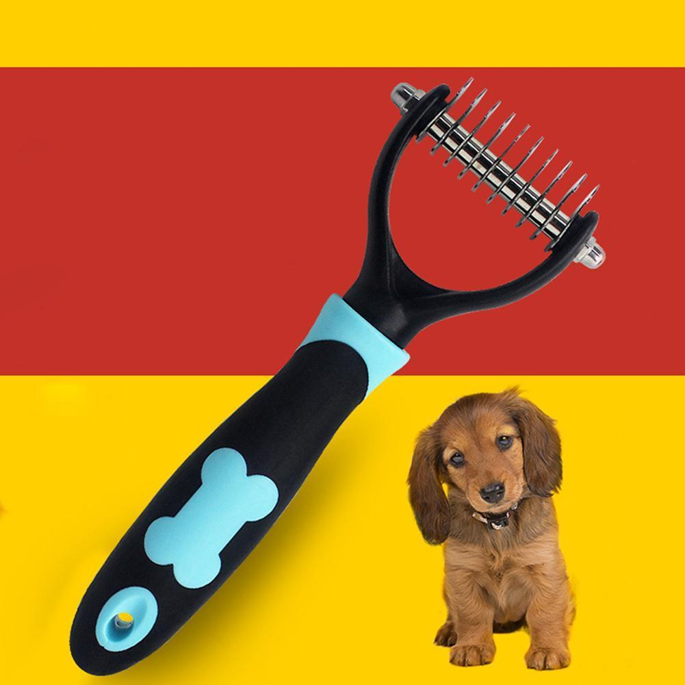 Durable Pet Dog Grooming Deshedding Trimmer Comb - Lush & Keen - Awesome Products