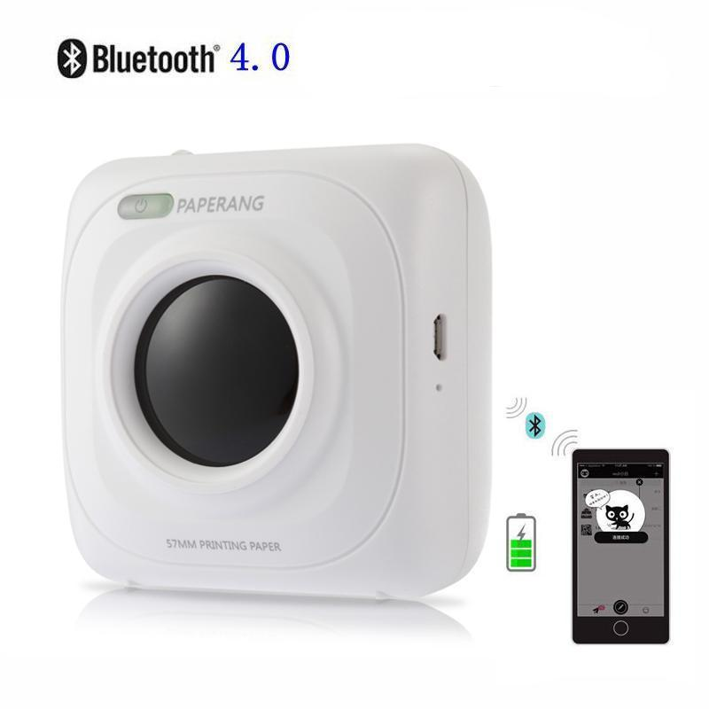 Portable Bluetooth 4.0 Photo Printer