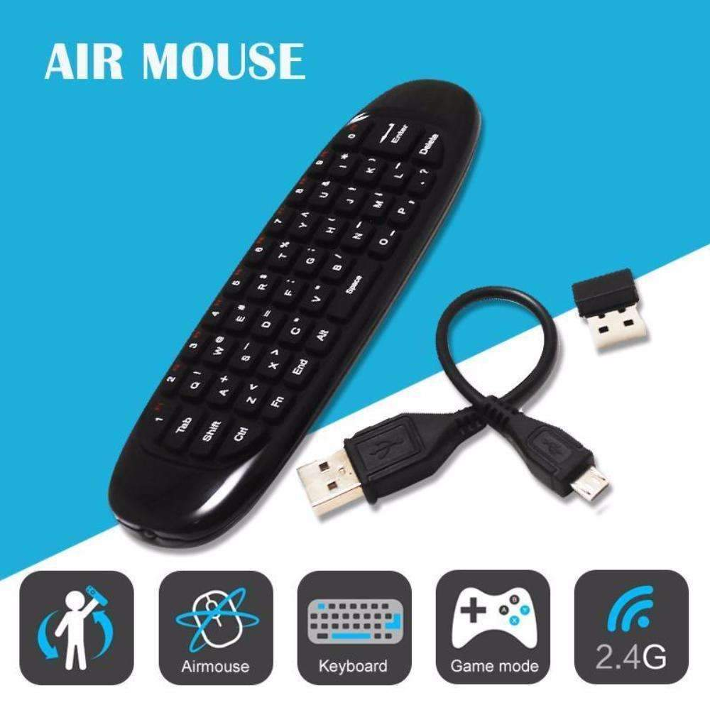 Air Mouse Keyboard - Allow the Device Select Any Menu Item With Ease!