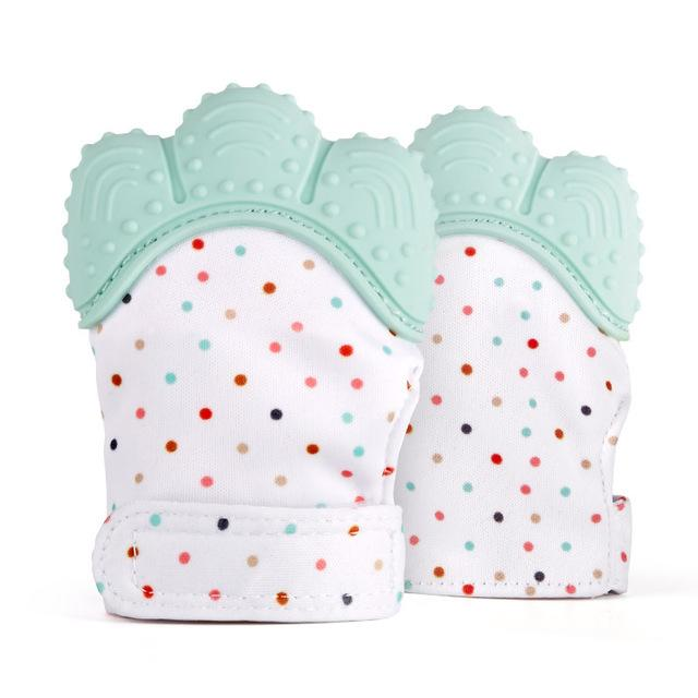 Silicone Teether Baby Glove - Lush & Keen - Awesome Products