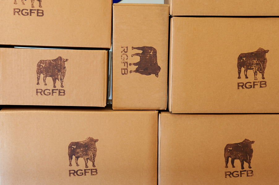 Richards Grassfed Beef is now selling direct to your door!