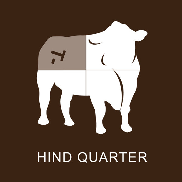 Richards Grassfed Beef Hind 1/4 Steer Pack - 99 Lbs