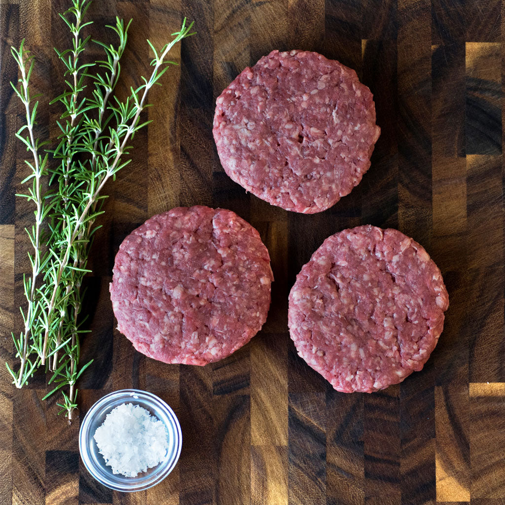 Richards Regenerative Grass Fed 6oz Patties
