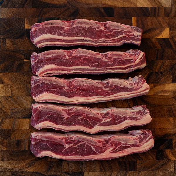 Richards Regenerative Grass Fed Korean Short Ribs