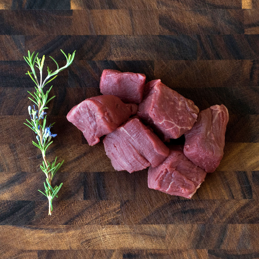 Richards Regenerative Grass Fed Stew Meat