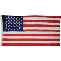 5' x 8' Polyester Outdoor American Flag (Fully Sewn & Lock Stitched) with Grommets