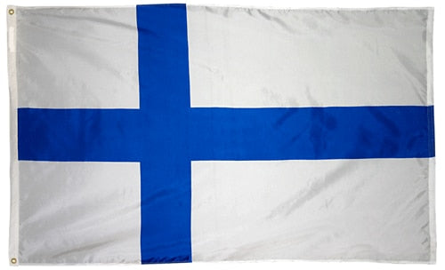2' x 3' Finland Flag with Brass Grommets