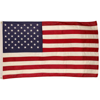 "2' 5"" x 4' 6"" Cotton G-SPEC American Flag (Fully Sewn & Lock Stitched)"