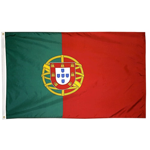 2' x 3' Portugal Flag with Brass Grommets