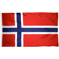 5' x 8' Norway Flag with Brass Grommets