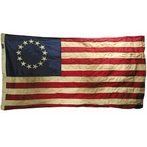 Betsy Ross Vintage Flag