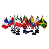 "4"" x 6"" Armenia International Stick Flags"