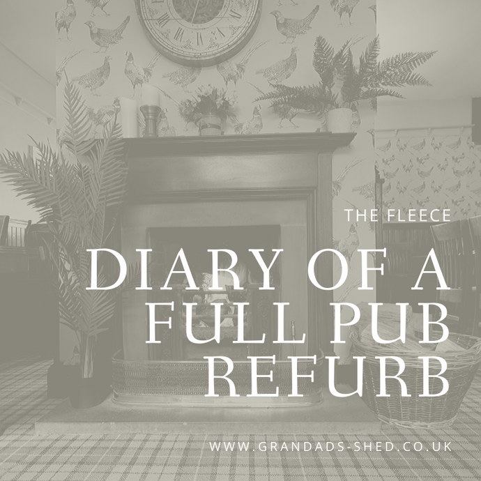 The Fleece: Diary of A Full Pub Refurb