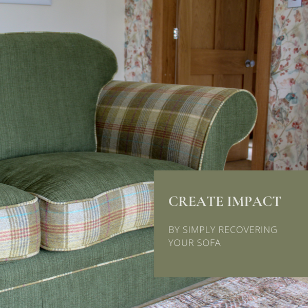 Recover your Sofa and Create Instant Impact