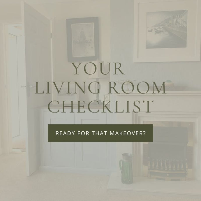 Your Living Room Makeover Checklist