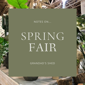 Notes from Spring Fair
