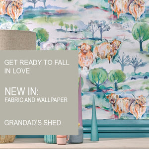 Are you looking for new fabrics or wallpapers?