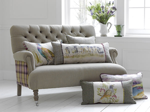 Colour and comfort with Cushion's...