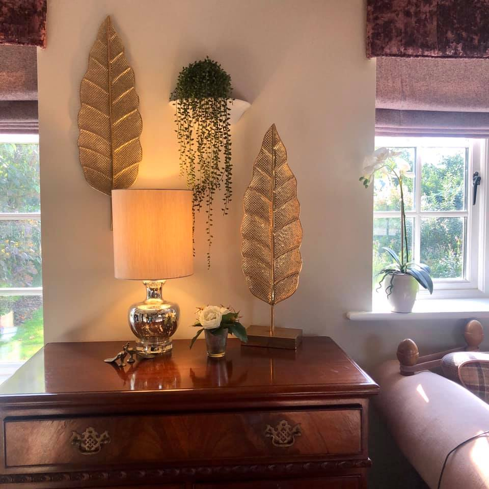 Leaf Wall Art and Console Piece