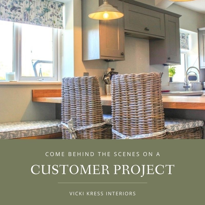 Come Behinds the Scenes on a Customer Project with Vicki Kress Interiors