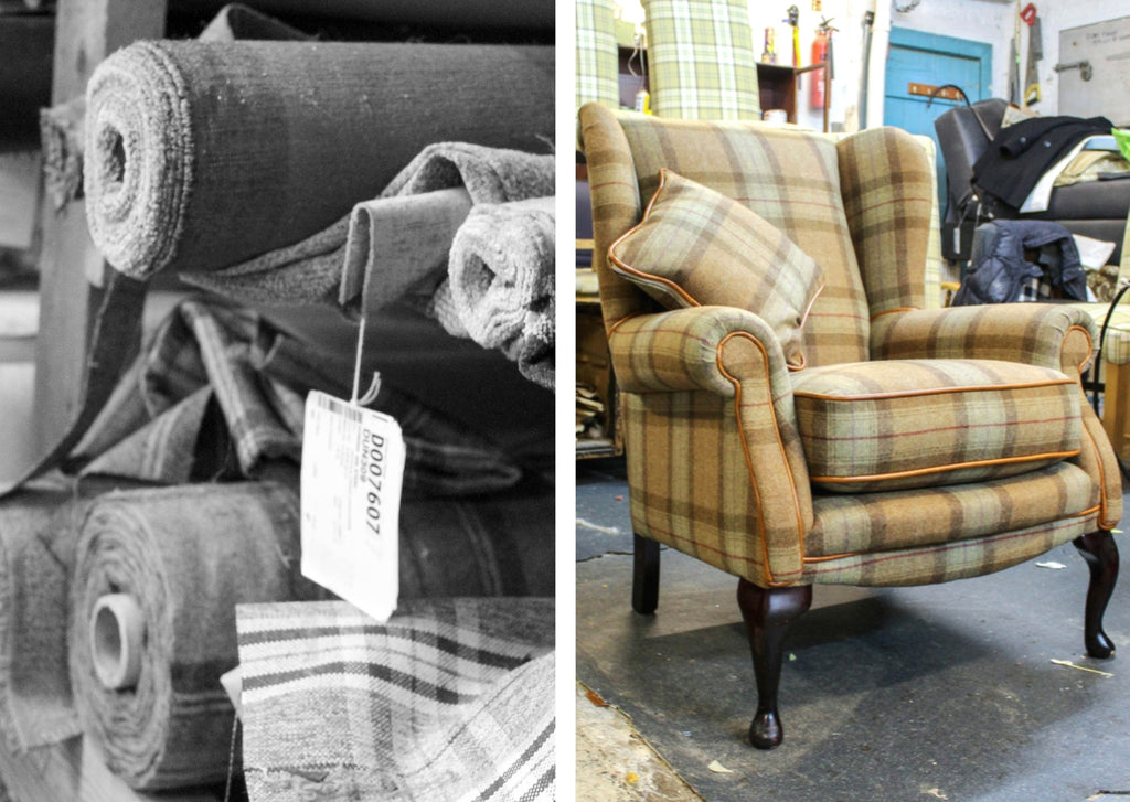 Grandad's Shed Re-upholstery Yorkshire