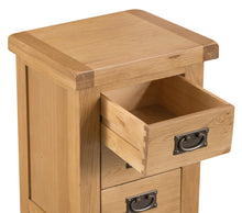 Claudio Large 3 Drawer Bedside
