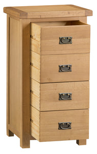 Claudio 4 Drawer Narrow Chest