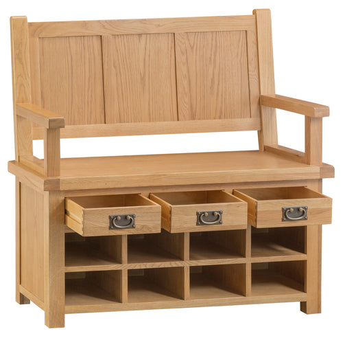 Claudio Living Monks Bench