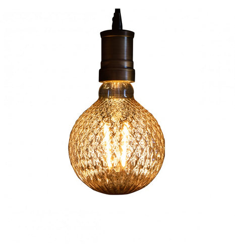 Retro Bulb - Diamond Pattern