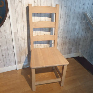 Ladder back dining Chairs - Oak - SUMMER-SALE
