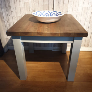 Chunky Top Rustic Pine dining table