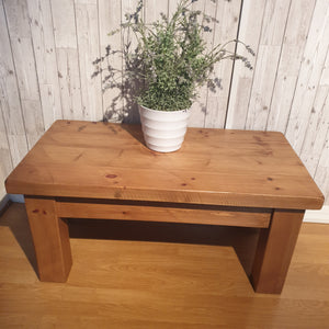 Pine coffee table - SUMMER-SALE