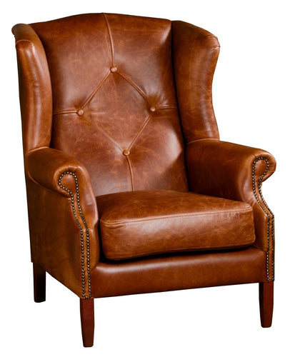 FAST TRACK CHAIR - Wing Buttons Chair