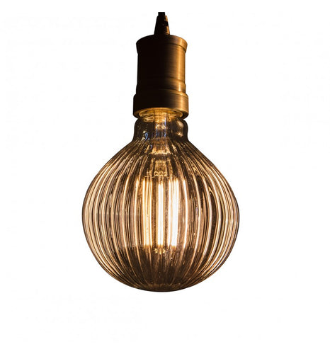 Retro Bulb - Ribbed Pattern