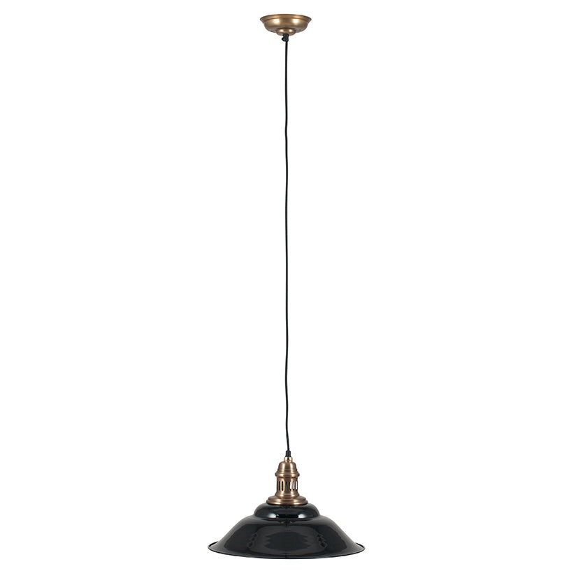 Cafe Style Bistro Metal Pendant Light