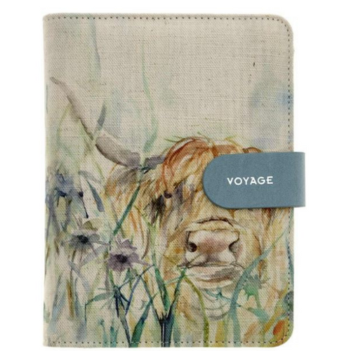 Highland Cow mini Organiser