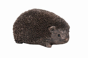 Wiggles Hedgehog Walking - Bronze Resin