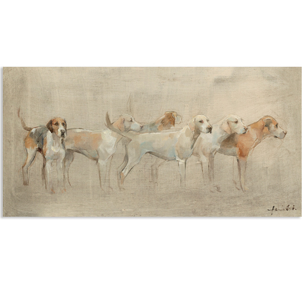 Hounds Canvas