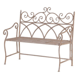 Wisteria Metal folding bench