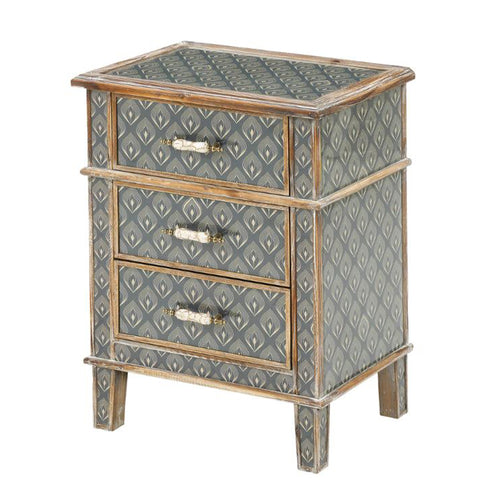 Fran 3 Drawer side table